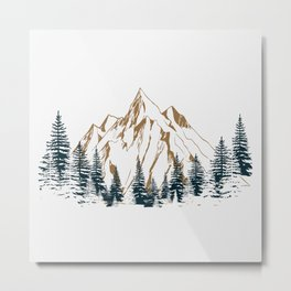 mountain # 4 Metal Print