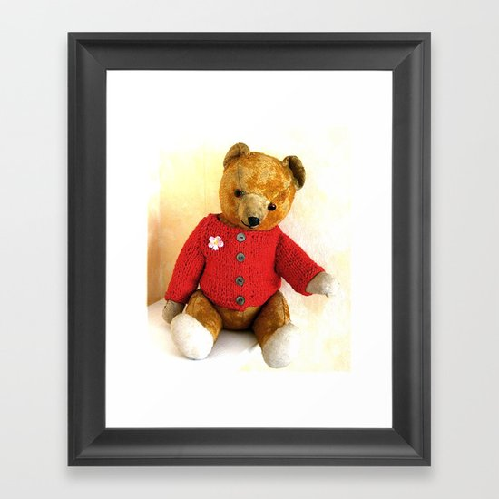 Teddy`s     50. Birthday Framed Art Print