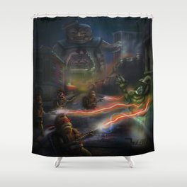 Choose the Destructor Shower Curtain