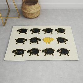Dare To Be Different Sheep Rug
