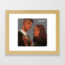 Hickey Framed Art Print