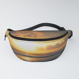 Clouds piercing Light Fanny Pack