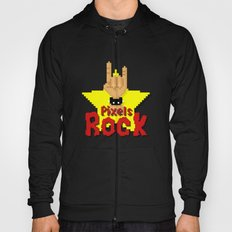 Pixels Rock Hoody