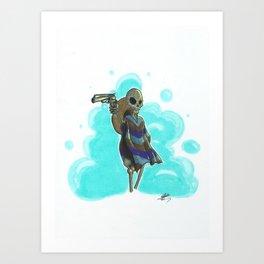 the mexican death Art Print