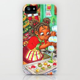 Christmas Cookin iPhone Case