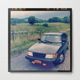 Saab SPG Metal Print