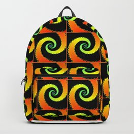 Bright Spirals Backpack