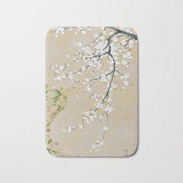 Ume flower painting,korean painting Bath Mat