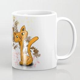 gufo e gatto 1 Coffee Mug