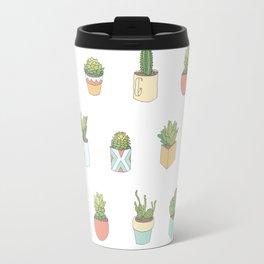 Cute Succulents Travel Mug