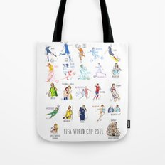 FIFA World Cup 2014 Moments! Tote Bag
