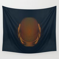 daft punk Wall Tapestries featuring Daft Punk by Tuyệt Duyệt
