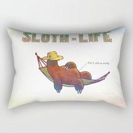 SLOTH LIFE fig. 5. Rectangular Pillow