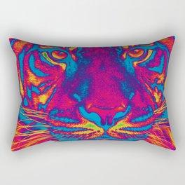 Trippy Tiger Rectangular Pillow
