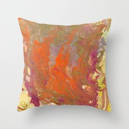 Sunset Relived Throw Pillow