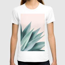Agave flare II - peach T-shirt