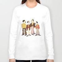submarine Long Sleeve T-shirts featuring Unicorn Submarine by That's So Unicorny
