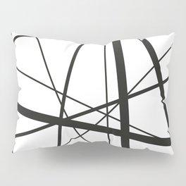 Mikado Sticks - stripes white Pillow Sham