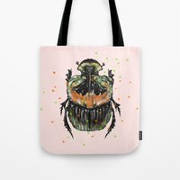 insect Tote Bags featuring INSECT X by dogooder