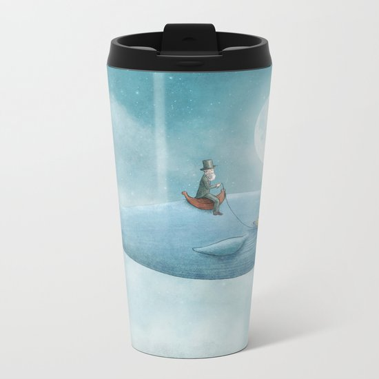 Whale Rider Metal Travel Mug