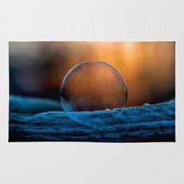 Sunrise Capture in Bubble Rug