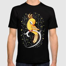Magic Canary Mens Fitted Tee Black 2X-LARGE