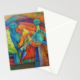Two Figures by Rufino Tamayo Stationery Cards