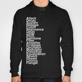 Synthesizer Terms Hoody