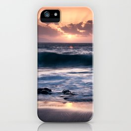 Sunset at El Arenal iPhone Case