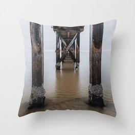 Sorrento Pier Throw Pillow