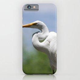 Great Egret Three - Utah iPhone Case