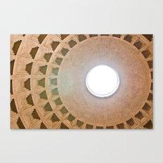 Pantheon Dome Canvas Print