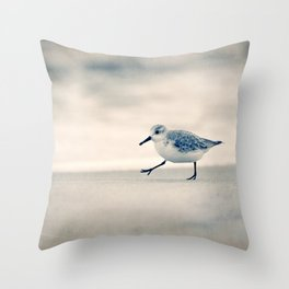 Just Keep Walking Throw Pillow