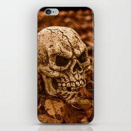 Halloween Skull 2 iPhone Skin
