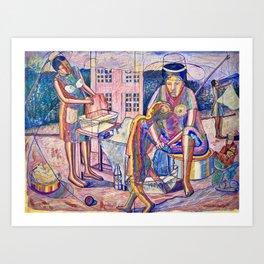 Passage of Time Art Print