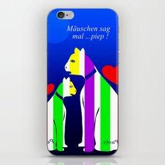 I - Phon - Motiv - Katzen iPhone & iPod Skin