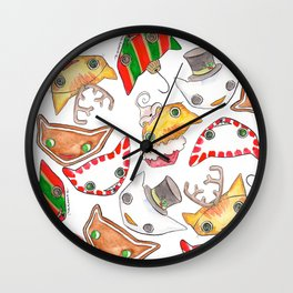 """Oro?"" Christmas Series Wall Clock"