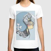 moto T-shirts featuring Moto Girl by Cory Mendenhall / Blackwing Arts