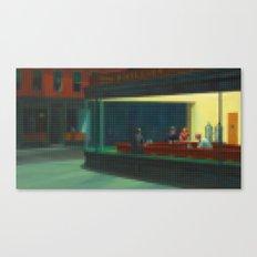 Lego: Nighthawks Canvas Print