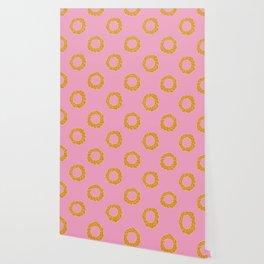 Pastel Pastry Pattern Wallpaper