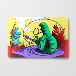 The Caterpillar! Metal Print