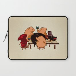 Dinner With Friends Laptop Sleeve