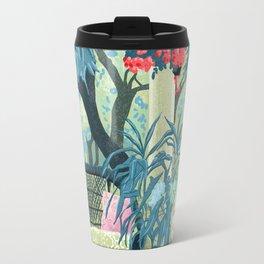 Flowered terrace Travel Mug