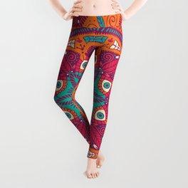 Colorful Mandala Pattern 017 Leggings