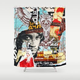 Born To Roll Shower Curtain