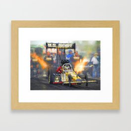 """US Army Dragster 16,5"""" x 11,8"""" Framed Art Print"""