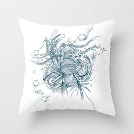 Déracinée Throw Pillow