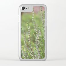 Soft Heather Clear iPhone Case
