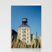 portland Stationery Cards featuring Portland by Richard PJ Lambert