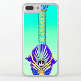 Keyblade Guitar #59 - Ultima Weapon (KH2) Clear iPhone Case